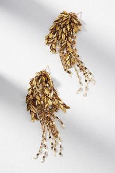 Willow Drop Earrings #anthropologie