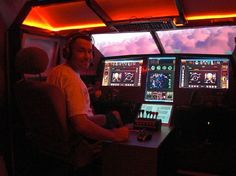 flight simulator cockpits of all types and sizes