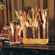 Dried Corn Fall Arrangement - Southern Living