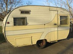 Vintage Camper Trailers-1957 Dalton I have one just like that I'm going restore