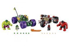 Lego Marvel Superheroes Pits Green Hulks Against Red Hulks
