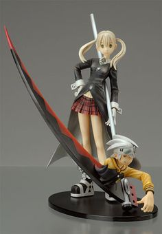 soul eater figima | ... enix is this figure of maka and soul eater from the anime soul eater
