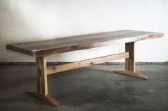 Black Walnut Slab Table
