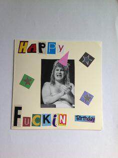 Upcycled handmade birthday card monty python ooak by funktjunk upcycled handmade birthday card ozzy osbourne by funktjunk bookmarktalkfo Gallery