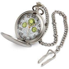 ThinkGeek :: Doctor Who Diecast Master's Pocket Watch
