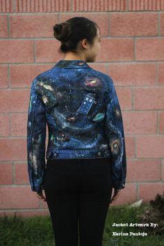 My Tardis Galaxy Jacket Design