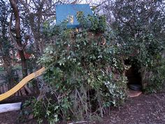 Turn an ordinary play scape into an awesome fort!   www.wabi-sabihomeandgarden.com