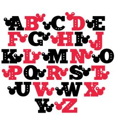Daily Freebie 4-26-15: Miss Kate Cuttables--Mouse Uppercase Alphabet SVG scrapbook cut file cute clipart files for silhouette cricut pazzles free svgs free svg cuts cute cut files