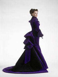 Scarlett O'Hara Butler in the final scenes of Gone With the Wind: In the Mist by Tonner Doll Company