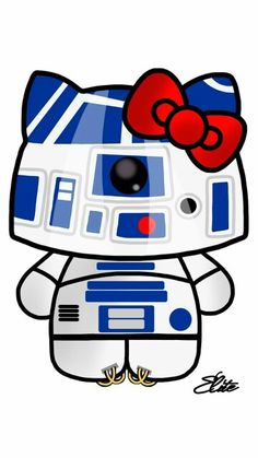 Hello R2D2 #HelloKitty #kitty #obsessed #StarWars #R2D2 #fangirl