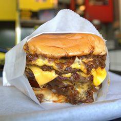 triple cheeseburgers | Tommy's Burgers