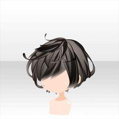 Anime Boy Hair, Manga Hair, Anime Hairstyles Male, Boy Hairstyles, Drawing Hairstyles, Drawing Male Hair, Drawing Faces, Drawing Tips, Pelo Anime