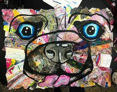 smART Class: Collage animals