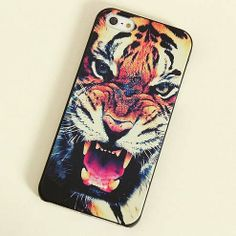 Ferocious Tiger iPhone 4/4s or 5 Case, perfect for an LSU girl like me :D