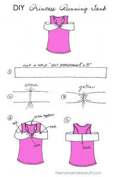 sleeping beauty dress diy | Measure the distance of your upper chest making sure to go around ...
