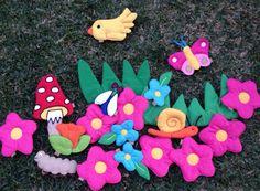 Elementos de primavera, Decora Educando. www.decoraeducando.com Rosa Reina