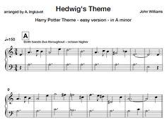 Harry Potter Theme – easy piano sheet music #learnpiano