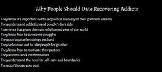 Why People Should Date Recovering Addicts