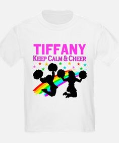 PERSONALIZED CHEER T-Shirt Calling all Cheerleaders! Show your love for Cheerleading with our exclusive Cheerleader Tees and Gifts.  Use code PADDY20 to save an additional 20% off orders http://www.cafepress.com/sportsstar/10189555  #Cheerleading #Cheerleader #Cheerleadergift #Lovecheerleading #PersonalizedCheerleader