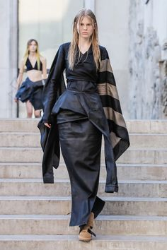 Rick Owens Sets Paris On fire with SS19 Womenswear Collection