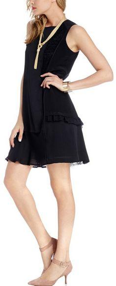 Little Black Dress + D'Orsay Heels