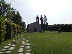 montichiari italy   Cristina da Bolsena - abside e campanile
