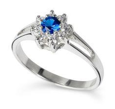 BLUE ZINNIA Silver R