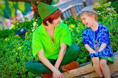 So Cool, meeting Peter Pan