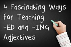The topic of -ED and -ING adjectives can be a refreshing one as it gives you the chance to introduce a higher level of new vocabulary as well as open up a whole new world of expressing opinions and feelings for the learner.