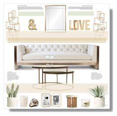 """""""LOVE"""" by stranjakivana ❤ liked on Polyvore featuring interior, interiors, interior design, home, home decor, interior decorating, Vesper Dresses, Windsor Smith, Aromatherapy Associates and Allstate Floral"""