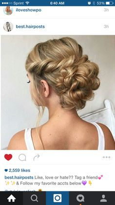 Love this up do!