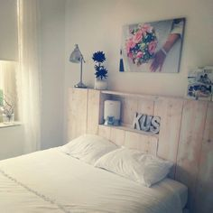 1000 images about slaapkamer on pinterest met beds and van - Slaapkamer hout ...