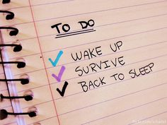 #spoonie to do list