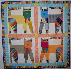 Happy Cat Quilt