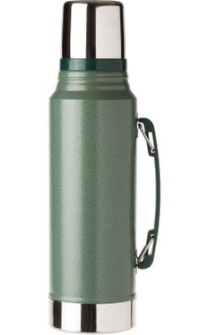 STANLEY VACUUM FLASK 1L in hammertone green >>via @TOAST