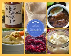 50+ Real Food Condiment Recipes : sauces, dips, dressings, jellies, jams, spreads, and more!