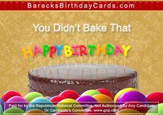 Vladimir Putin And George Clooney Send President Obama Birthday Cards Barack Obama Birthday, Birthday Cards, Happy Birthday, Republican National Committee, Green Business, Easter Eggs, Baking, Humor, Bday Cards
