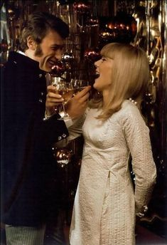 Johnny Hallyday and Sylvie Vartan, Joyeux Noel !!