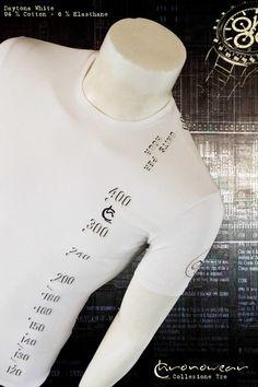 T shirt CHRONOWEAR ROLEX DAYTONA 16520 / 116520  - White - infos : info@chronowear.it