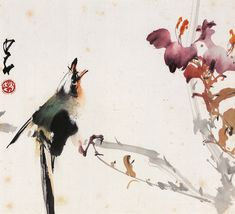 Zhao Shao'ang: Flower and Bird: Chinese