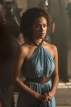 """I got Missandei! Which """"Game Of Thrones"""" Character Are You Based On Totally Unrelated Questions? Related Post When we met him as our sun and stars, Khal Drogo, . 'Game of Thrones' Season 6 Best Moments Game Of Thrones Dress, Game Of Thrones Facts, Got Game Of Thrones, Game Of Thrones Funny, Familia Targaryen, Game Of Trone, Got Characters, Game Of Thrones Characters, Nathalie Emmanuel"""
