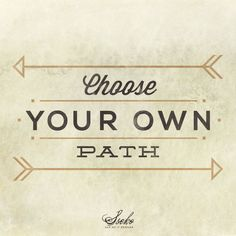 This Fall Choose your own Path  ssekodesigns.com