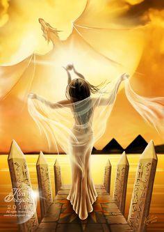 Sun Goddess by AmberCrystalElf.deviantart.com
