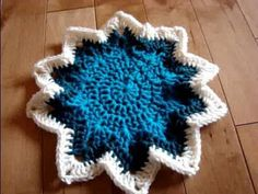 Howto Crochet 10 Point Super Star Pattern