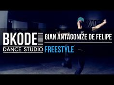 BKODE STUDIO | Gian Antagonize De Felipe - Krump Freestyle - YouTube