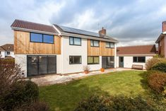 Gallery   Extensions & Conversions by Linebuild in Bristol & Bath Cedar Cladding, House Cladding, Garden Room Extensions, House Extensions, Bungalow Extensions, Home Exterior Makeover, Exterior Remodel, Garage Extension, 1960s House
