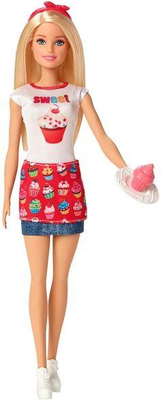 *2017 Sweet Barbie doll #FHP65