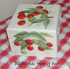 Cherries recipe box