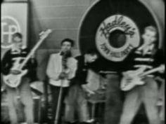 Gene Vincent - Be-Bop-A-Lula  (Town Hall Party - 1956)