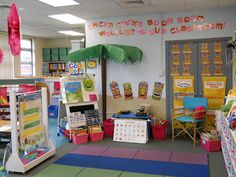 Mrs. Greene's Kindergarten Korner: beach themed classroom